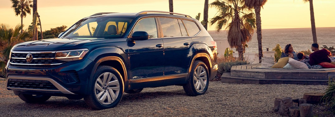 2021 Volkswagen Atlas SUV is available in 7 exterior paint color options