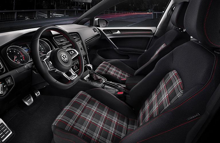 2020 Volkswagen Golf GTI front seats