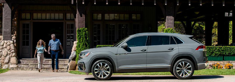Volkswagen Atlas Cross Sport side profile