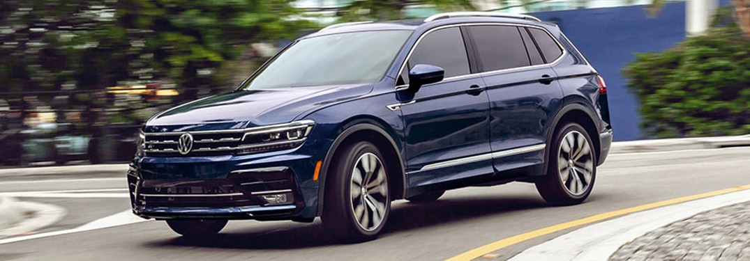 2021 Volkswagen Tiguan is available in 7 gorgeous exterior paint color options