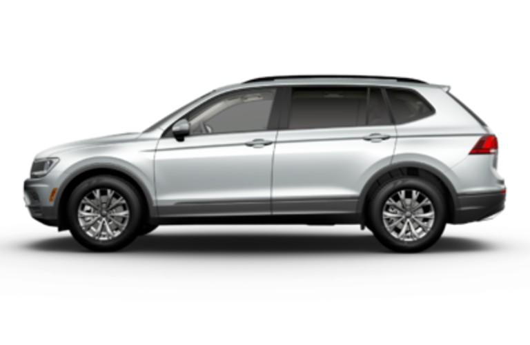 2021 Volkswagen Tiguan Pyrite Silver Metallic