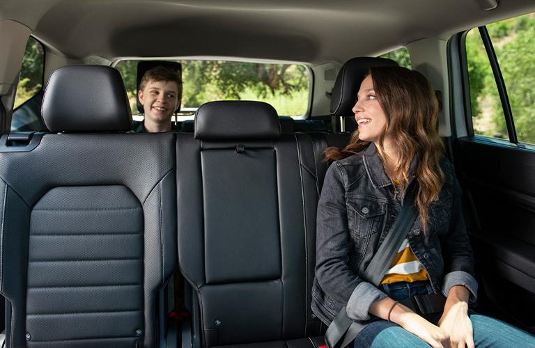 2021 Volkswagen Atlas rear passenger seats