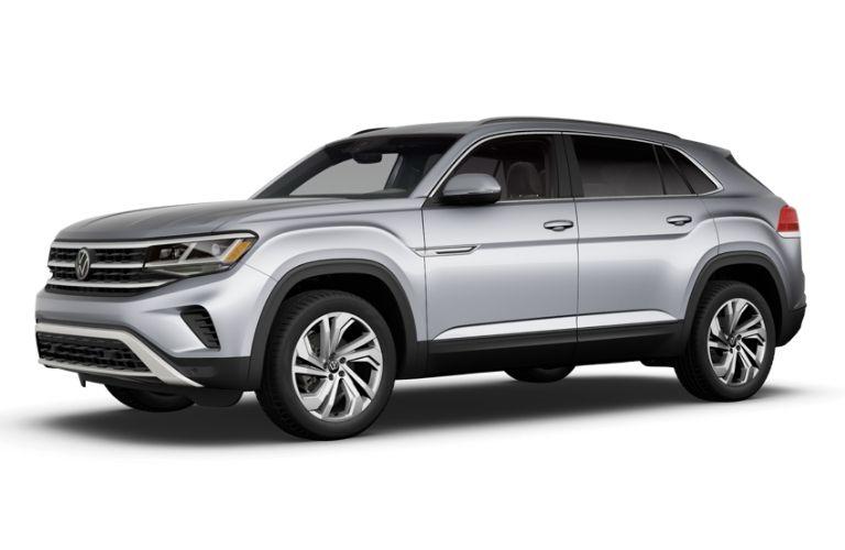 2021 Volkswagen Atlas Cross Sport Pyrite Silver Metallic