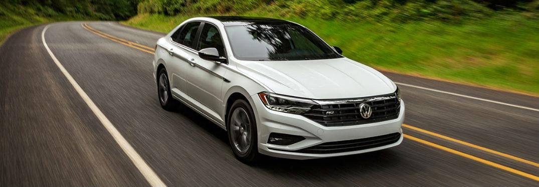 2020 Volkswagen Jetta driving on a road