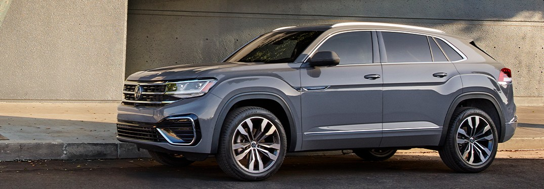 2021 Volkswagen Atlas Cross Sport side profile