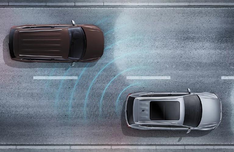2021 Volkswagen Atlas Cross Sport Blind Spot Monitor