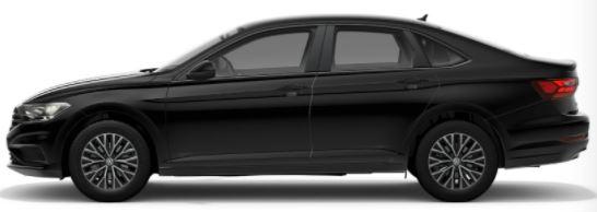 2021-Volkswagen-Jetta-Black
