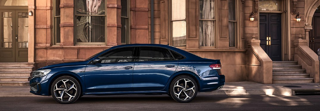 2021 Volkswagen Passat offers 6 available exterior paint color options
