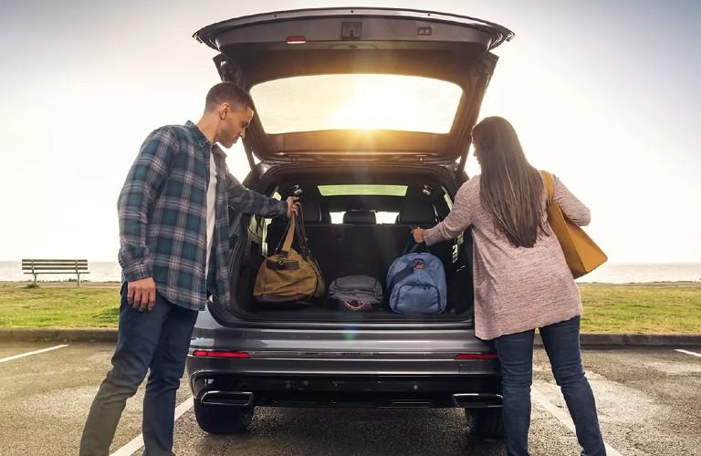 2021 Volkswagen Tiguan rear cargo area