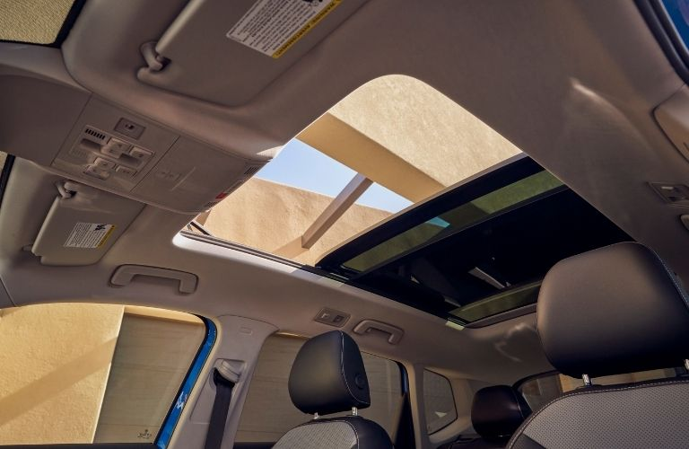 available sunroof of the 2022 VW Taos