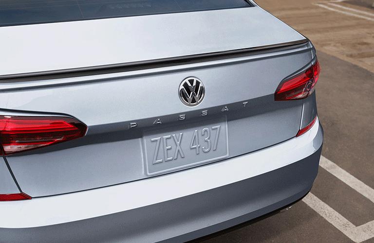 Volkswagen Passat Number plate