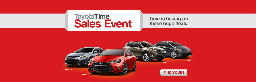 Toyota Sales Event >> Toyota Time Sales Event In Birmingham