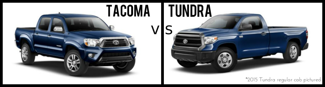 Tacoma Vs Tundra >> Differences Between The 2015 Toyota Tacoma And The 2015 Toyota Tundra