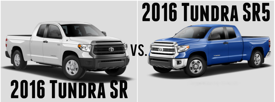 2016 toyota tundra sr vs sr5. Black Bedroom Furniture Sets. Home Design Ideas