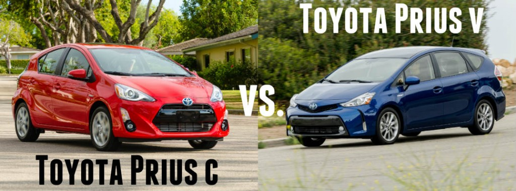 Toyota Sequoia Lease >> What's the difference between the Prius c and Prius v?