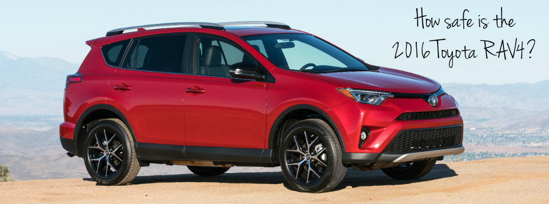 2016 RAV4 Safety features