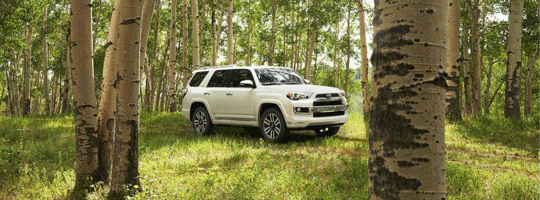 2016 Toyota 4Runner seating