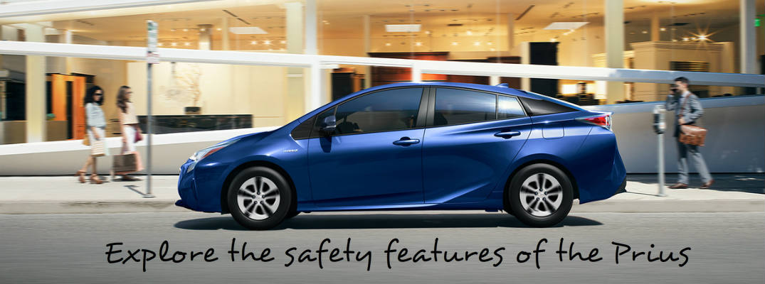 2016 Toyota Prius safety features