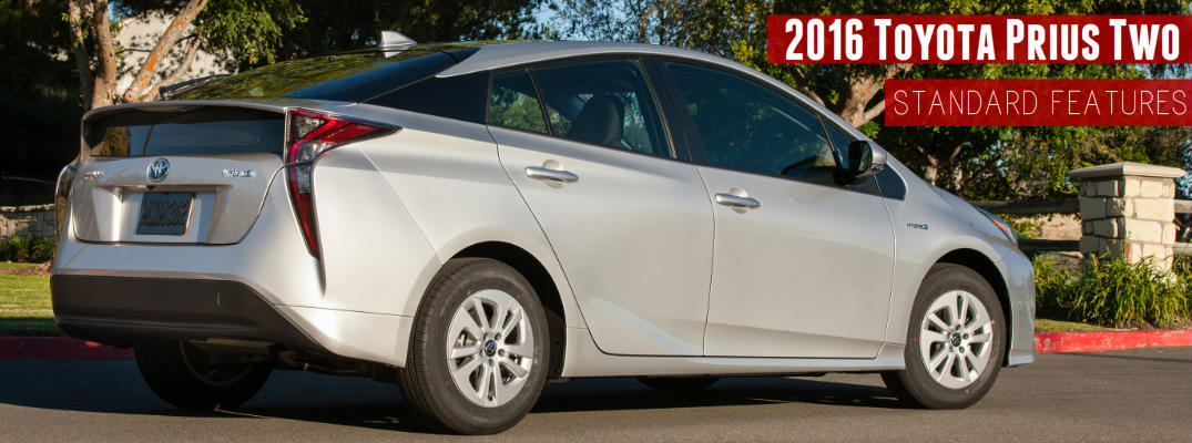2016 Toyota Prius Two Standard Features_o