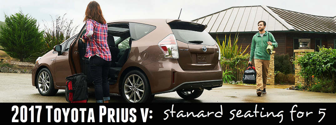 2017 Toyota Prius v Seating Options
