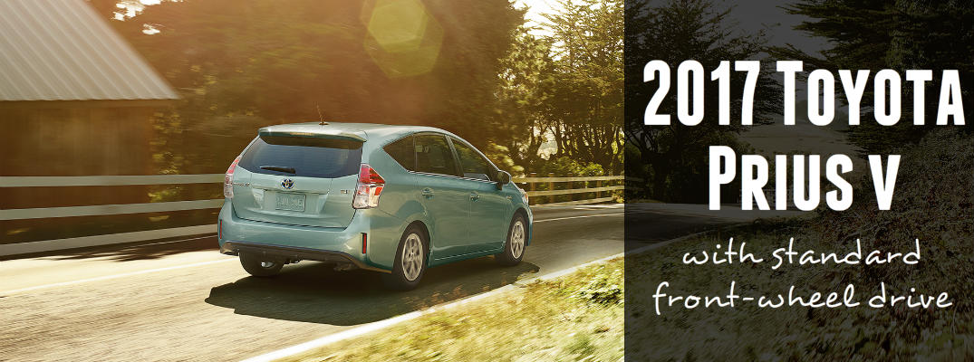 2017 Toyota Prius v front-wheel drive