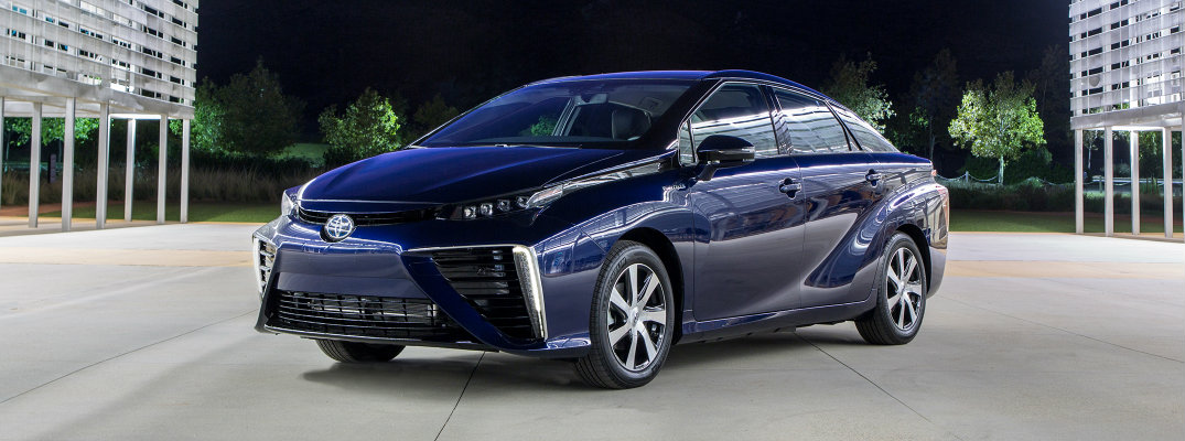 2016 Toyota Mirai Features and Specs