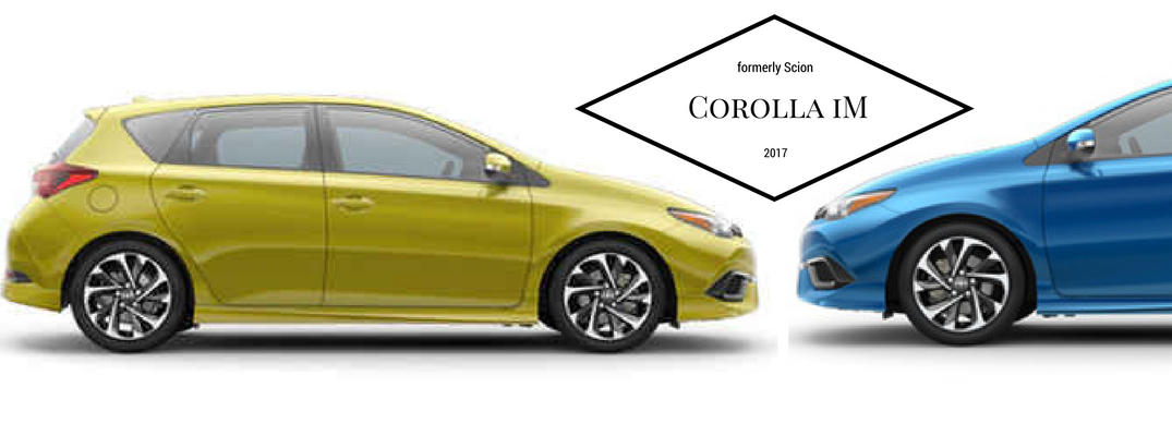 2017 Toyota Corolla iM Colors and Features
