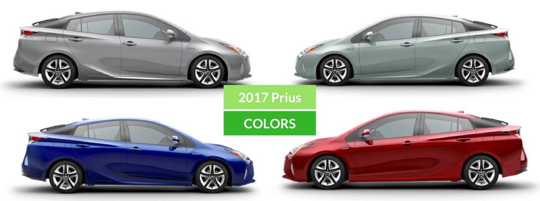 2017 Toyota Prius Colors and Accessories