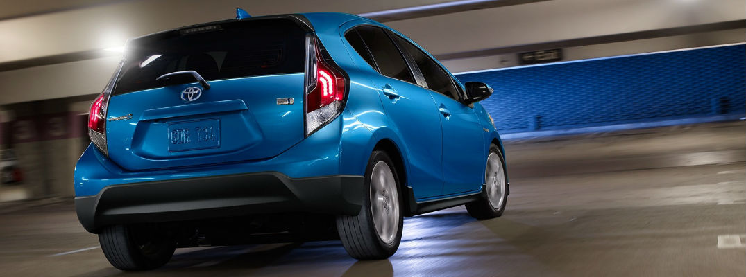 2017 Toyota Prius C Trim Level Options and Exterior Color Choices