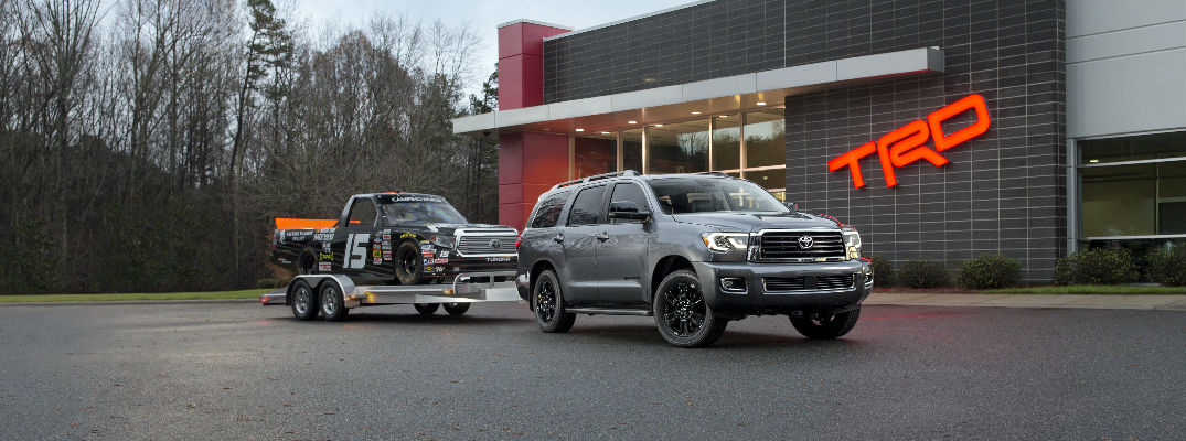 2018 Toyota Sequoia TRD Sport Design Elements and Amenities