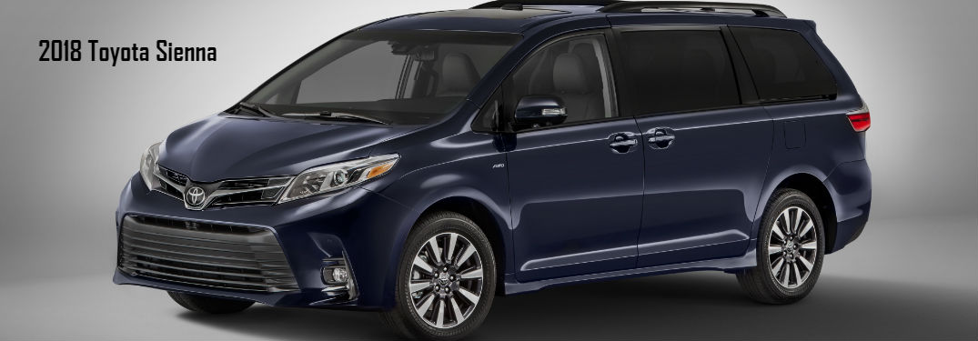 What can I Expect from the new 2018 Toyota Sienna?