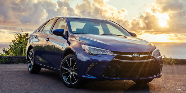2017 Toyota Camry Exterior View in Blue