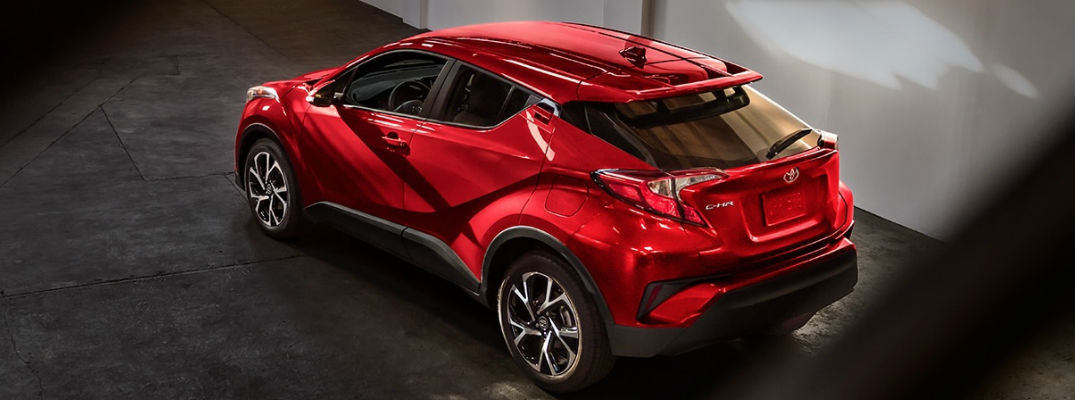 2018 Toyota C-HR Performance Technology and Engine Specs