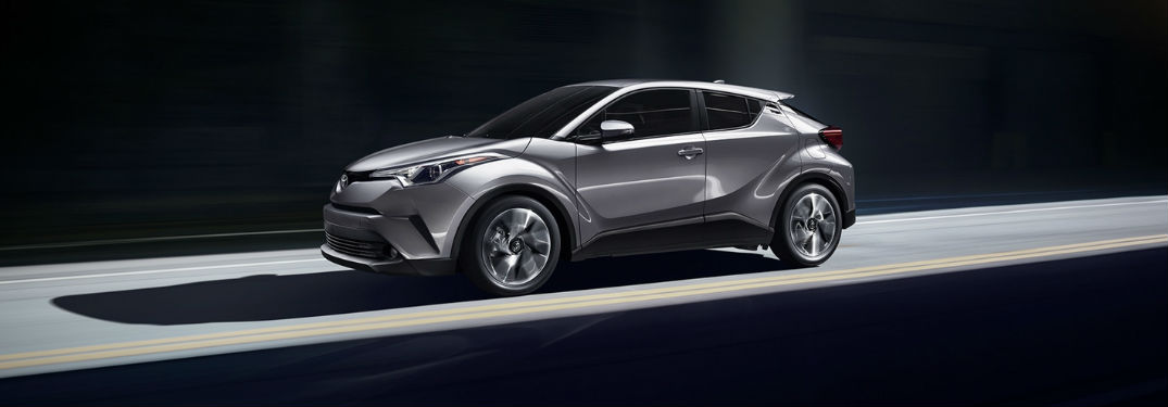 2018 Toyota C-HR Exterior and Interior Color Options