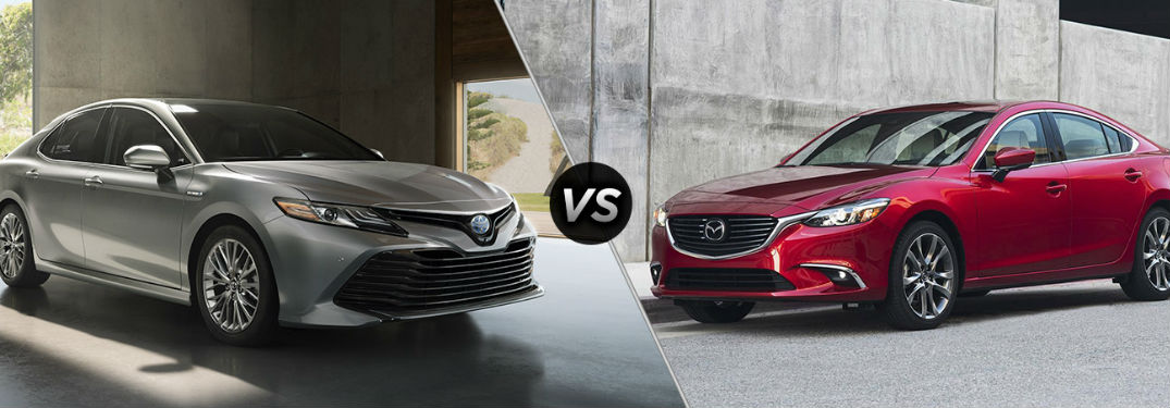 2018 Toyota Camry vs 2017 Mazda6 Comparison