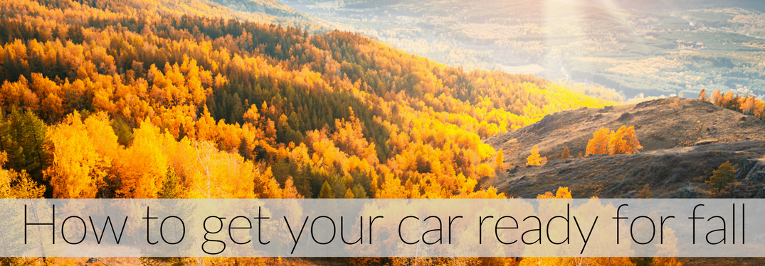 Fall scenery car tips