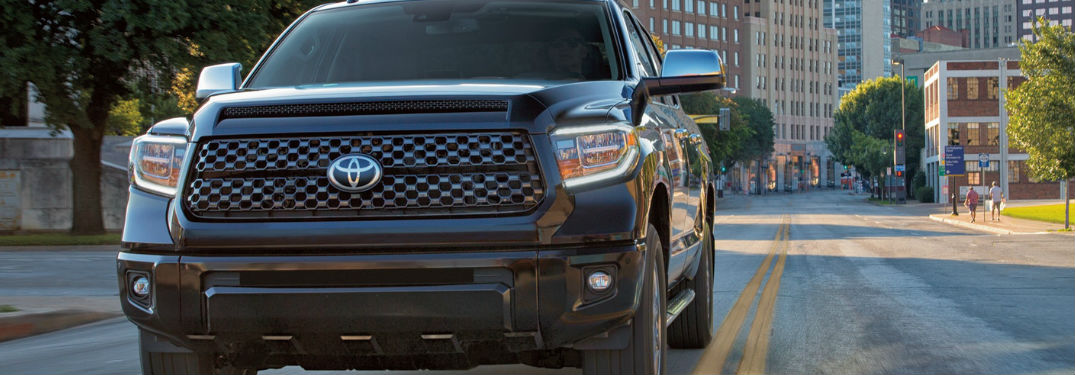 2018 Toyota Tundra Exterior View of Front End in Silver