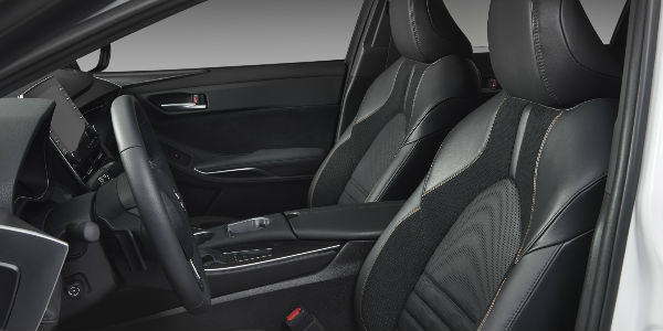 View of Front Seating in 2019 Toyota Avalon