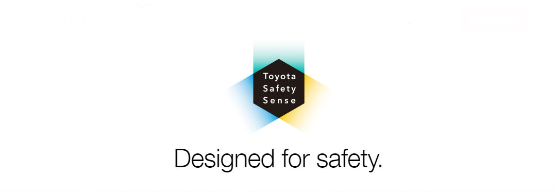 Toyota Safety Sense Logo Designed for Safety.
