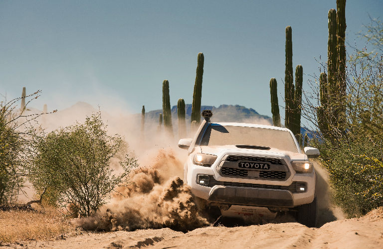 Front End View of 2019 Toyota Tacoma TRD Pro