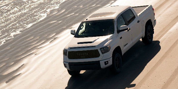 2019 Toyota Tacoma TRD Pro Exterior View in White