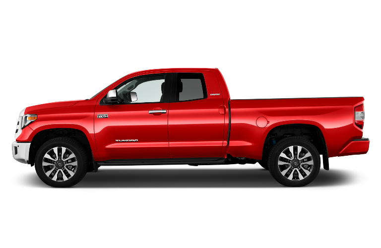 2018 toyota tundra double cab exterior in red o serra toyota. Black Bedroom Furniture Sets. Home Design Ideas