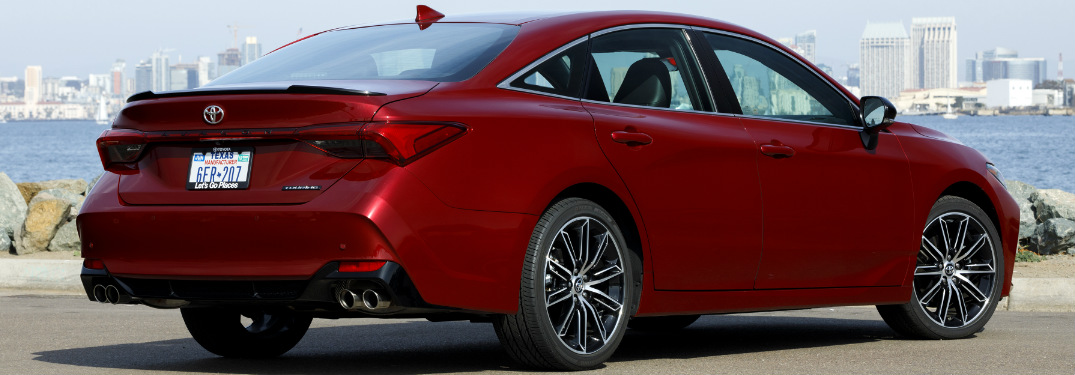 What Are The Paint Color Choices For The 2019 Toyota Avalon