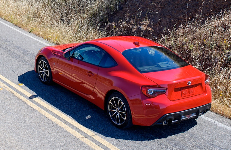 2018 Toyota 86 exterior in red