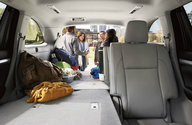 Toyota Highlander Cargo Space >> 2018 Toyota Highlander Cargo Space Dimensions And Seating Capacity