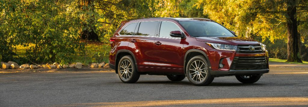Toyota Dealership Birmingham >> 2018 Toyota Highlander Cargo Space Dimensions and Seating Capacity