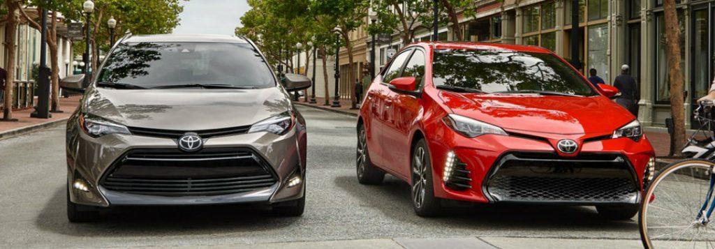 2019 Toyota Corolla Exterior Color Options And Model Grades