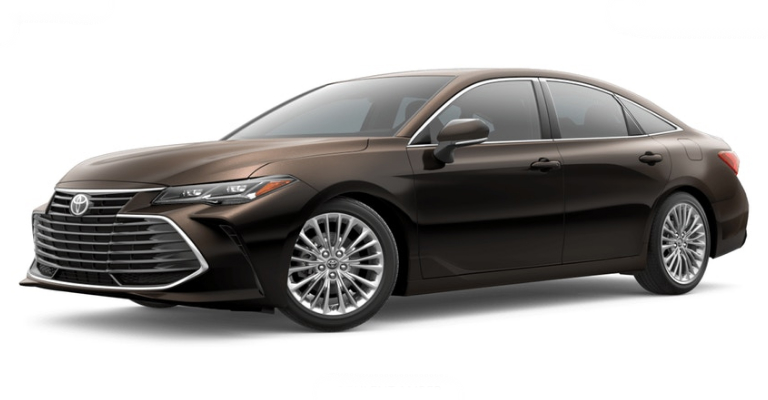 2019 Toyota Avalon Exterior Color And Interior Upholstery Options
