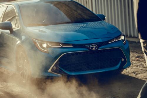 2019 Toyota Corolla Hatchback front fascia