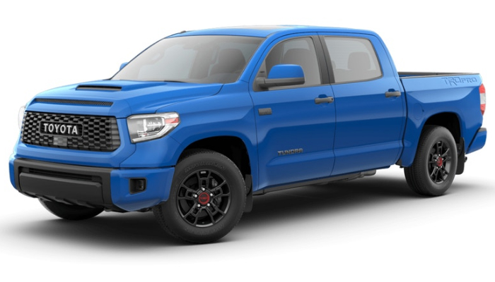 2019 Toyota Tundra in Voodoo Blue